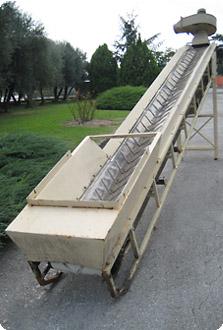 Elevatore con defogliatore Rapanelli usato | Usato Pieralisi