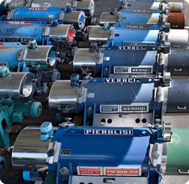 آلات لعصر زيت الزيتون و أجهزة طرد مركزي للأستخدامات الصناعية مستعملة | آلات بيراليزي المستعملة
