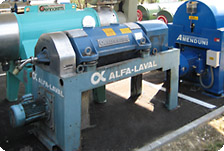Second-hand Alfa Laval extractor | Second-hand Pieralisi
