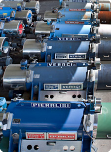 Reconditioned Veraci extractors | Second-hand Pieralisi