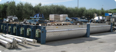 Second-hand Alfa Laval kneaders | Second-hand Pieralisi