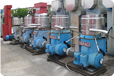 Second-hand/reconditioned Veraci separators | Second-hand Pieralisi